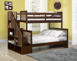 Bunk Bed Stairs Plans Diy Camp Loft Bed With Stair Kids Bunk Bed Free Plans Furniture