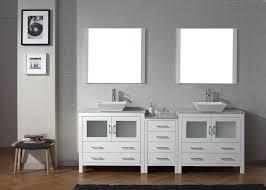 double sink vanity white. virtu usa 90\ double sink vanity white