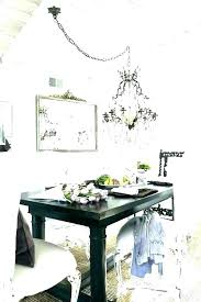 chandelier height above table dining room light