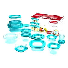 rubbermaid food storage set freezer containers brilliance container features premier 18 piece purple