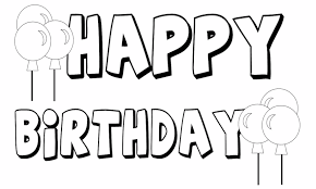 This ensures that both mac and windows users can download the coloring sheets and that your coloring pages aren't covered with ads or other web site junk. Printable Happy Birthday Coloring Pages