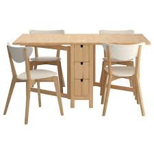 Small Picture Dining Tables Ikea Stornas Bjursta Birch White Kitchen Table And
