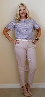 Express Columnist Ankle Pants A Review Pearls Ponies