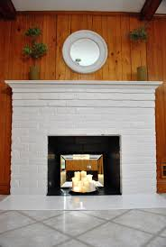 paint for inside of fireplace home design