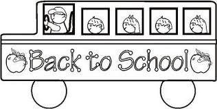 Small Picture School Bus Coloring Pages The 1st Day of School Gianfredanet