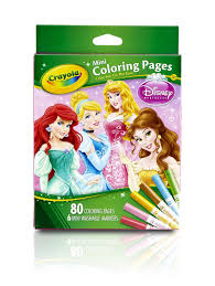 Small Picture Amazoncom Crayola Crayola Mini Coloring Pages Disney Princess