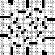 1208 19 Ny Times Crossword 8 Dec 19 Sunday Nyxcrossword Com