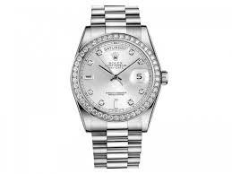 rolex day date president silver dial platinum 36mm 118346sdp rolex 118346sdp
