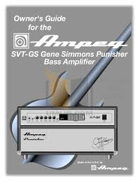 simmons amp. pdf for ampeg amp svt-cl manual simmons a