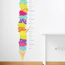 Gelato Height Chart Wall Decal