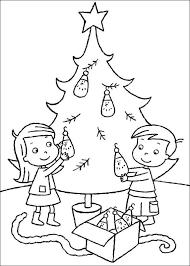 Kleurplaten Van Kerstboom