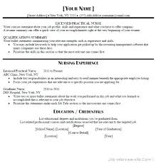 Free Lpn Resume Templates Resume Template Luxury Newly Graduate