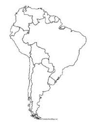 Latin America Outline Maps Image Blank Topographical Map Of Us World Map North America