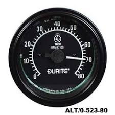 durite 86mm tachometer rev counters range of 3 models 12 or 24v Chevy Fuel Gauge Not Working at Durite Fuel Gauge Wiring Diagram