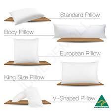 king size pillows on sale. Perfect Pillows Image Is Loading AusMadeStandardVShapeTriBoomerangBody Inside King Size Pillows On Sale