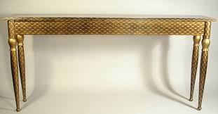 gold console table. Inspiration Idea Gold Console With Black Lilybelle Table