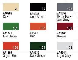 Railmatch Paints Colour Chart 10 Airfix Humbrol Enamel Paints Humbrol Enamel Paint Chart