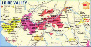 Loire Valley France Wine Map | Vineyards to visit. | To Travel ...