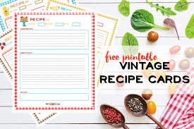 Free Recipe Pages Printable Nelliebellie