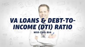Va Loans Debt To Income Ratio