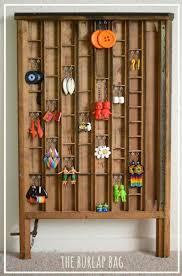 printer drawer earring holder diy earring holder ideas see more at s