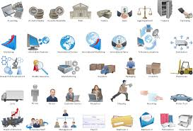 Pictorial Flow Chart Work Flow Process Chart Features To Draw Diagrams Faster