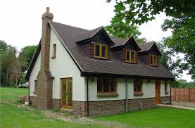 Chalet style bungalow images homes floor plans