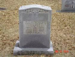 Jessie Melba Wright Clarke (1921-1998) - Find A Grave Memorial