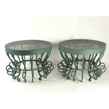 Paire of Coffee Table Bases From the 2oth Century - Galerie Martynoff