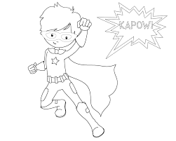 Kids are very fond of superhero coloring sheets. Free Printable Superhero Coloring Sheets For Kids Crazy Little Projects