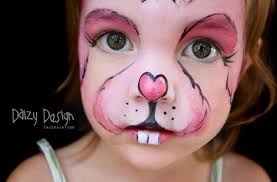 Small Picture bunny face paint easter bunny face paint tutorial mouths of mums
