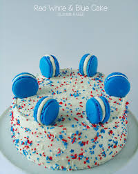 Decorating With Sprinkles Red White And Blue Cake