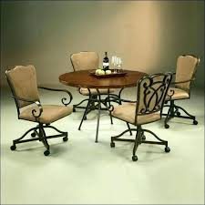 dining room chairs with casters kitchen chair on wheels dining room chairs on wheels um size