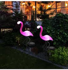 Lantern Pathway Lights Led Solar Flamingo Stake Light Lantern Solar Powered Pathway Lights Decorative Outdoor Lawn Yard Lamp For Garden Patio