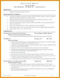 Sample Project Coordinator Job Description Resume Examples 2 S H ...