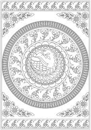 Small Picture 101 best Mandalas Coloring Pages for Adults images on Pinterest
