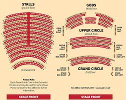 Northern Stage Seating Chart Box Office Information Grand Opera House