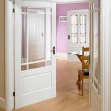 downham white primed door pair image gallery website white glass panel interior doors