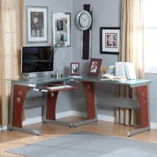 corner home office desks. small glass top computer desk deluxe pertaining to corner home office desks