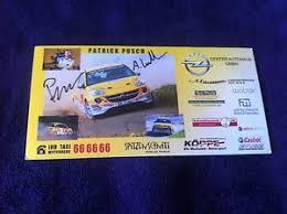 CP POSTCARD CARTOLINA OPEL ADAM PUSCH RALLY RALLYE WRC 2014   eBay
