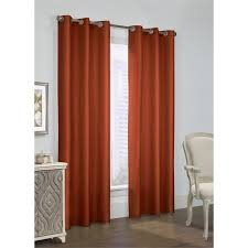 prescott insulated grommet top curtains thermal curtains solid e colored curtains