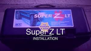 Super Z Tire Chain Size Chart Super Z Chains Tutorial