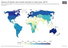 Alcohol In Our World Data Consumption -