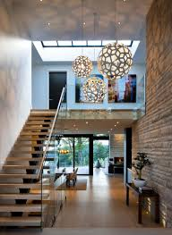 elegant design home. Entrance Hallway In Elegant Modern House West Vancouver, Canada Design Home
