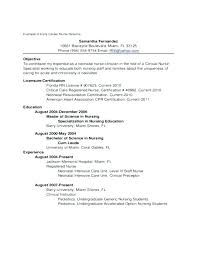New Grad Nursing Resume New Nursing Resume Samples For New Graduates Recent Graduate Resume