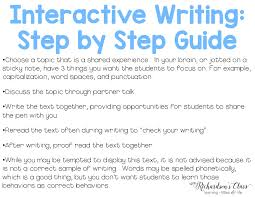 interactive writing in the classroom mrs richardson s class interactive writing and all you need to know about it