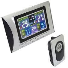 <b>DYKIE</b> Global Radio Controlled Alarm Clock with Indoor ...