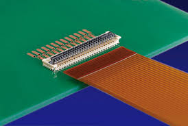 Flexible circuit board with ZIF connector 250m