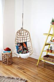 Kids Hanging Chair For Bedroom Fascinating Hanging Wicker Chairs For Bedrooms Property In Study