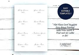 Seating Chart Cards Template Free Seating Chart Cards Jasonkellyphoto Co
